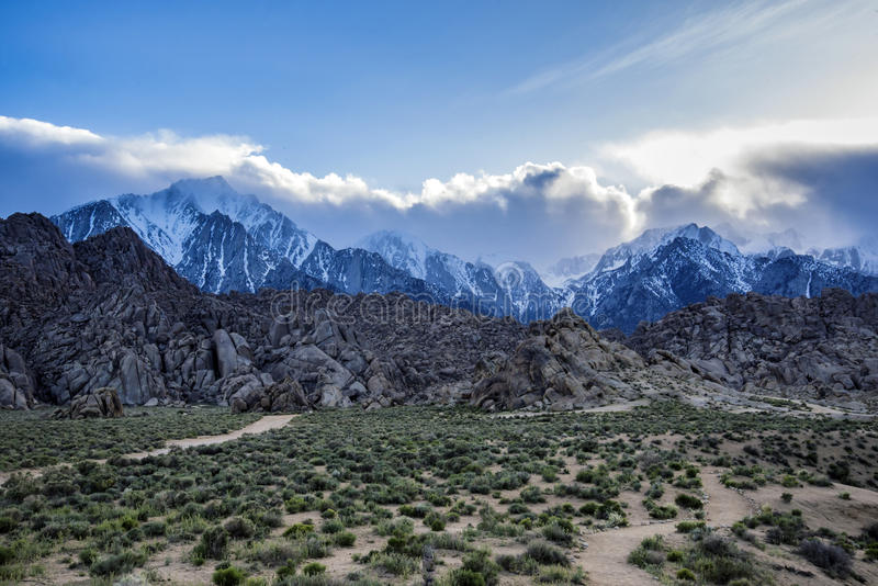 Mt whitney foto de stock