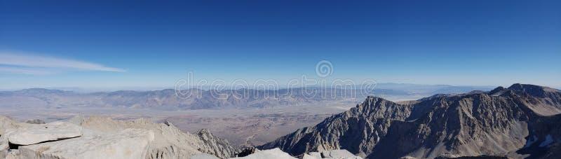 Mt Whitney Panorama imagen de archivo