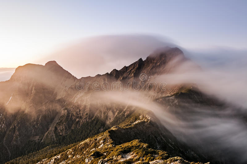 Mt Yushan fotografia stock libera da diritti