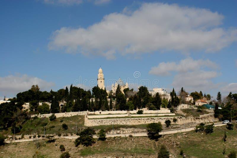 Mt Zion, Jérusalem photos stock