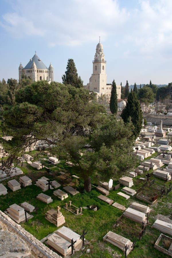 Mt Zion - Jerusalem stockbilder