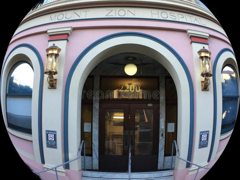 Mt Zion Medical Center San Francisco, 5 royaltyfri bild