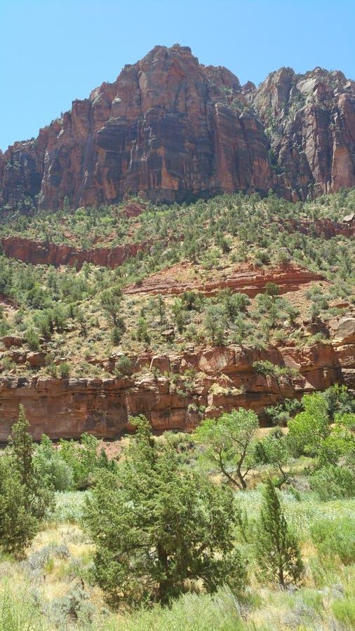 Mt Zion, Utah lizenzfreies stockbild
