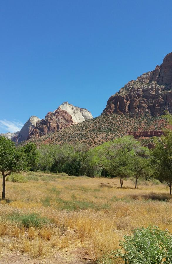 Mt Zion, Utah lizenzfreie stockfotografie