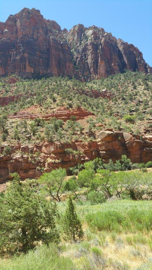 Mt Zion, Utah stockbilder