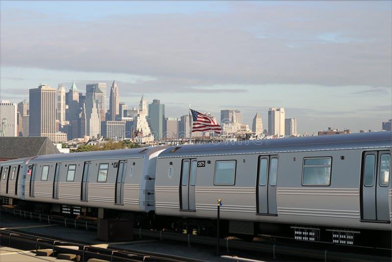 MTA del treno immagine stock libera da diritti