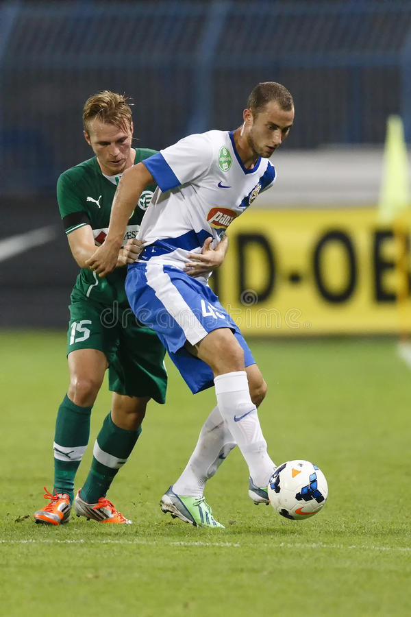Download MTK Vs. Gyor OTP Bank League Football Match Editorial Stock Photo - Image: 33652228