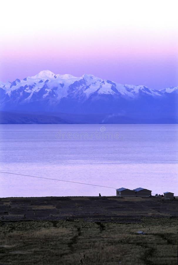 Mtns- Bolivia de los Andes imagenes de archivo