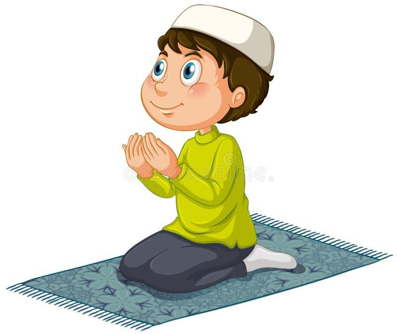 muçulmanos ilustração royalty free