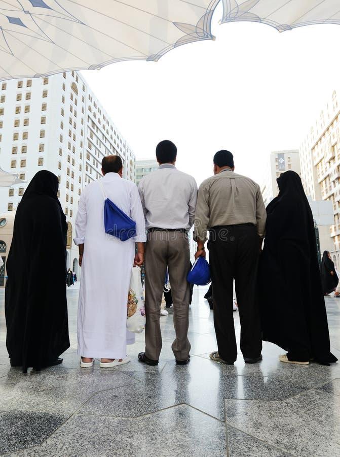 Muçulmanos do Haj de Makkah Kaaba fotos de stock