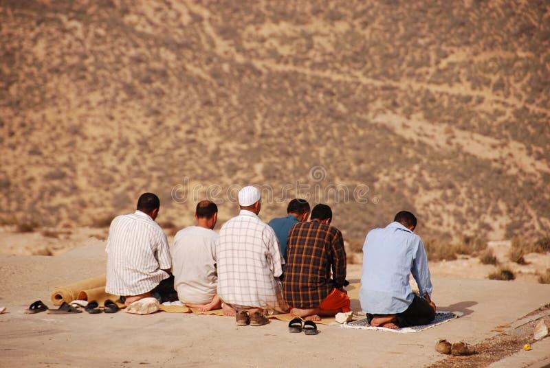 Muçulmanos que praying fotos de stock royalty free
