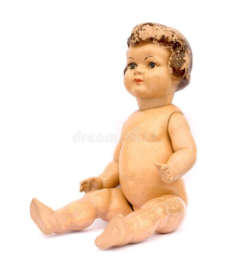 Muñeca antigua foto de archivo libre de regalías