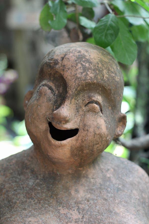 Muñeca cocida de la arcilla imagen de archivo libre de regalías