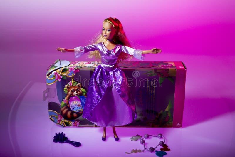 Muñeca de Barbie de Matell fotos de archivo libres de regalías