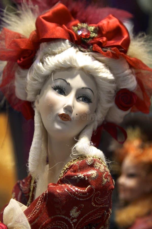 Muñeca de la mujer mayor foto de archivo libre de regalías