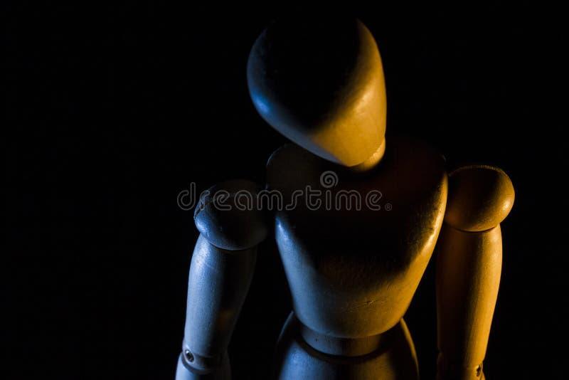 Muñeca de los artistas - 1 fotografía de archivo