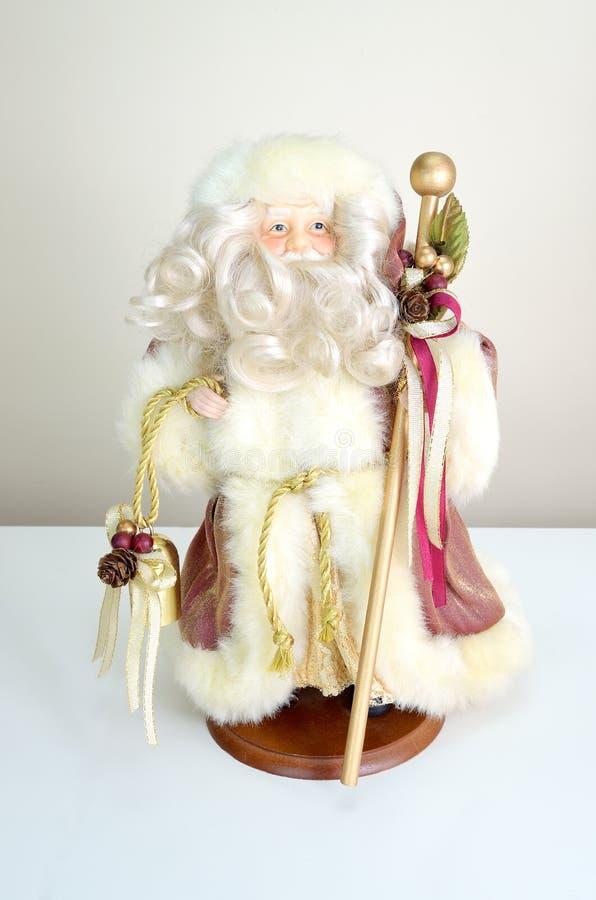 Muñeca de Papá Noel imagen de archivo