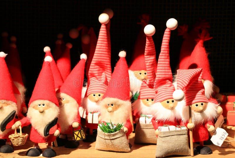 Muñeca de Santa Claus imagenes de archivo