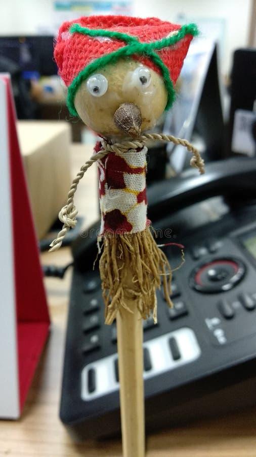 muñeca del pencill imagen de archivo