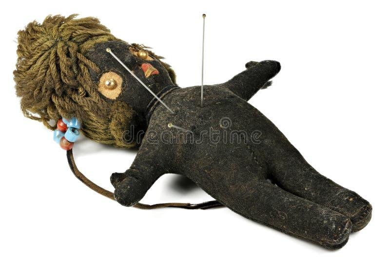 Muñeca del vudú imágenes de archivo libres de regalías