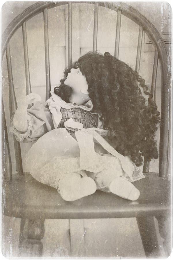 Muñeca espeluznante de China imágenes de archivo libres de regalías