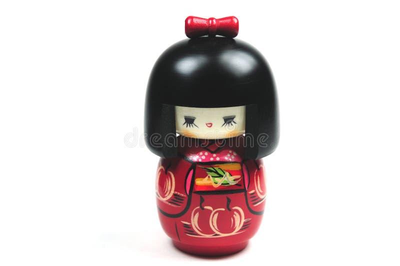 Muñeca japonesa de Kokeshi foto de archivo libre de regalías