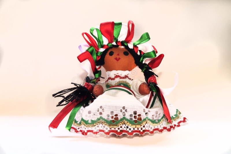 Muñeca mexicana imagenes de archivo