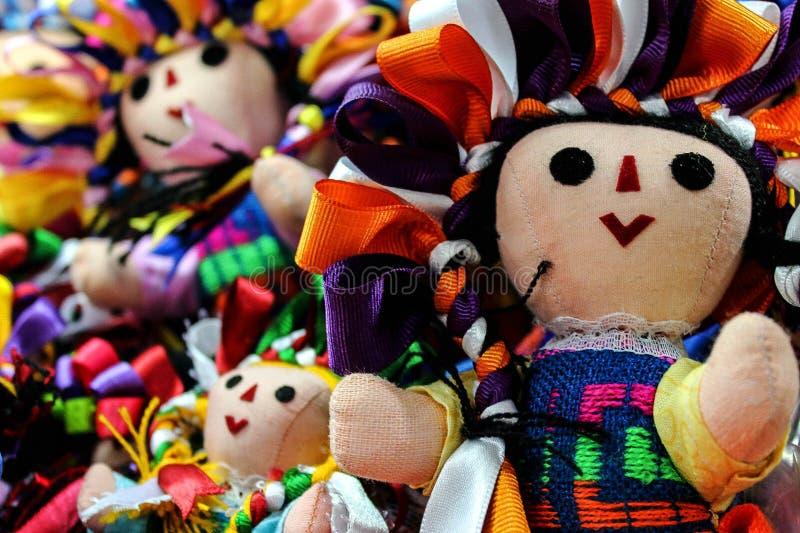 Muñeca mexicana MarÃa imagen de archivo libre de regalías