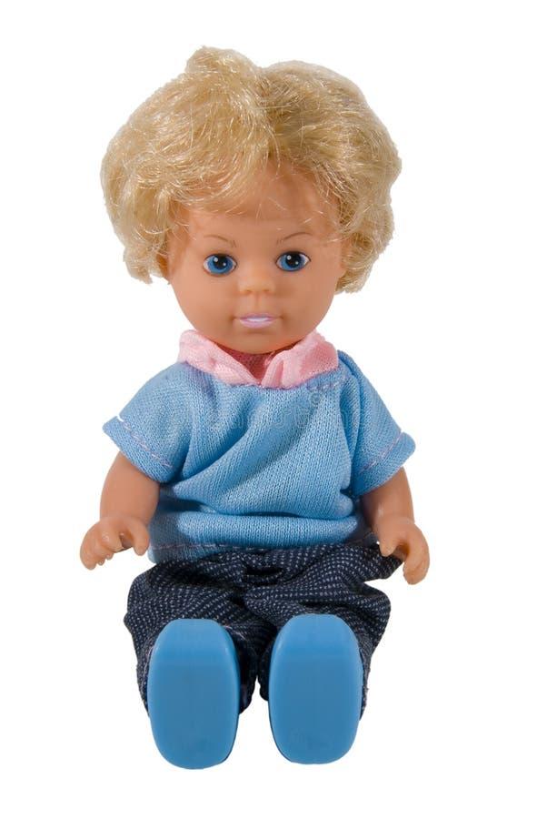 Muñeca que se sienta imágenes de archivo libres de regalías