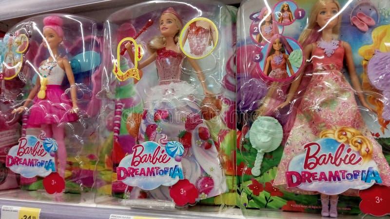 Muñecas de Barbie fotografía de archivo libre de regalías