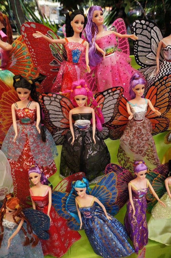 Muñecas de Barbie foto de archivo