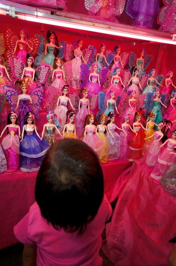 Muñecas de Barbie imagenes de archivo