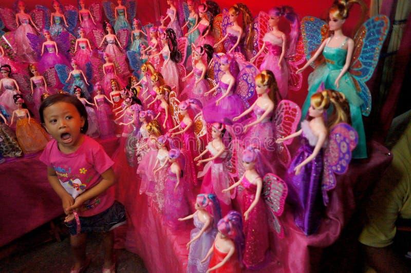 Muñecas de Barbie imagen de archivo libre de regalías
