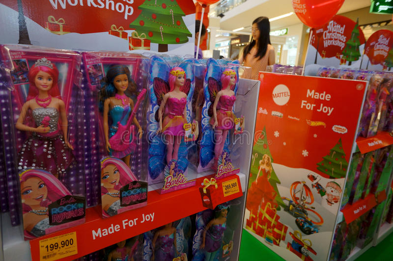 Muñecas de Barbie foto de archivo libre de regalías