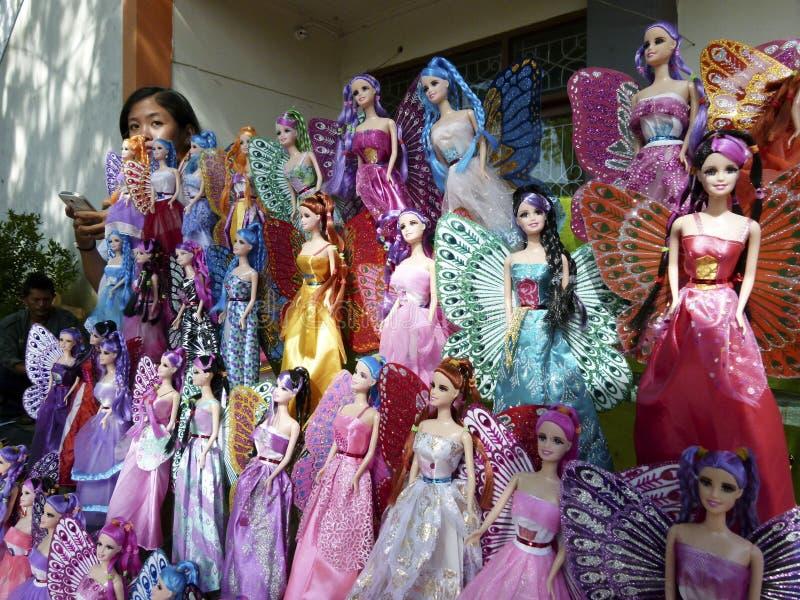 Muñecas de Barbie fotografía de archivo