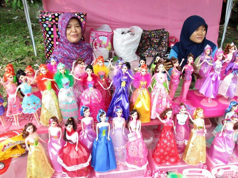 Muñecas de imitación de barbie imagen de archivo