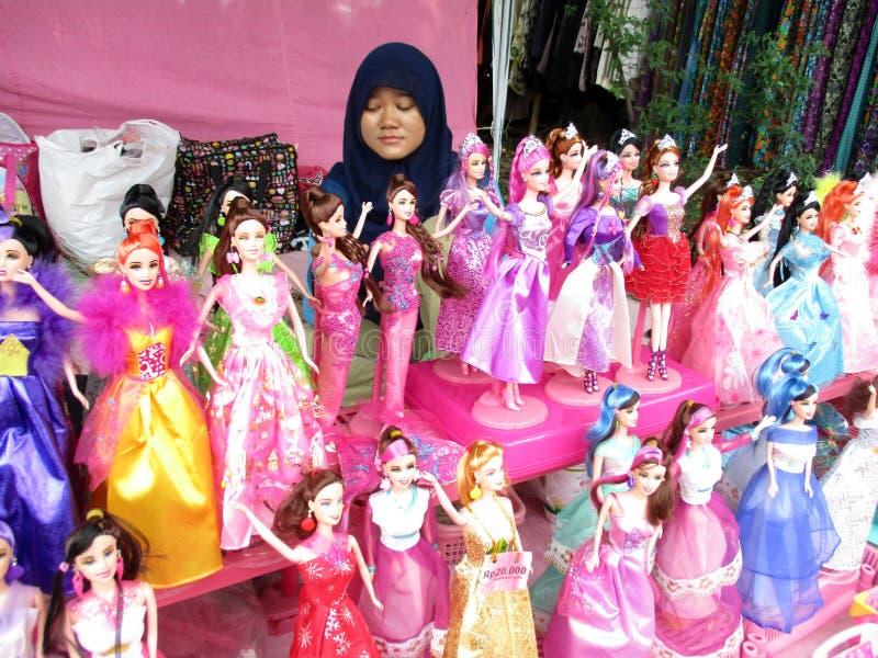 Muñecas de imitación de barbie imagenes de archivo