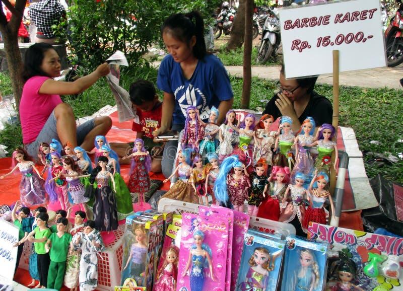 Muñecas de imitación de barbie imágenes de archivo libres de regalías