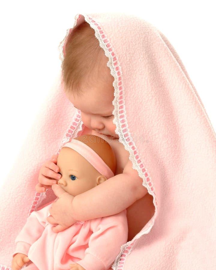 Muñecas del bebé fotografía de archivo