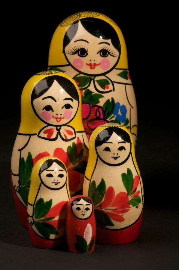 Muñecas rusas fotografía de archivo libre de regalías