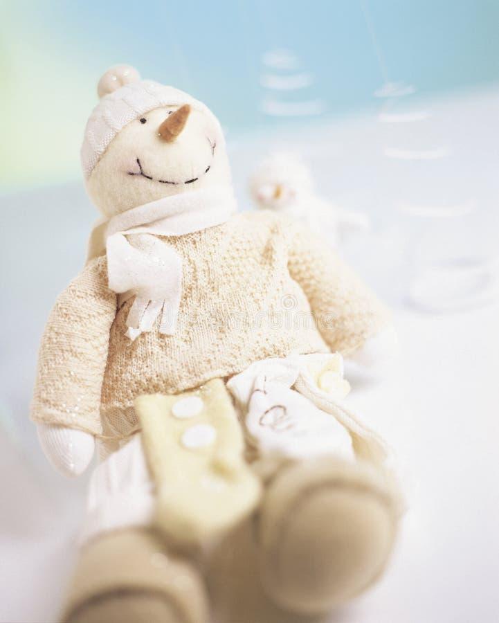 Muñeco de nieve 2 fotografía de archivo libre de regalías
