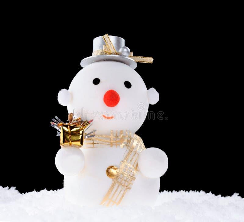 Muñeco de nieve imagenes de archivo