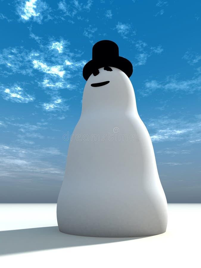 Muñeco de nieve 7 libre illustration