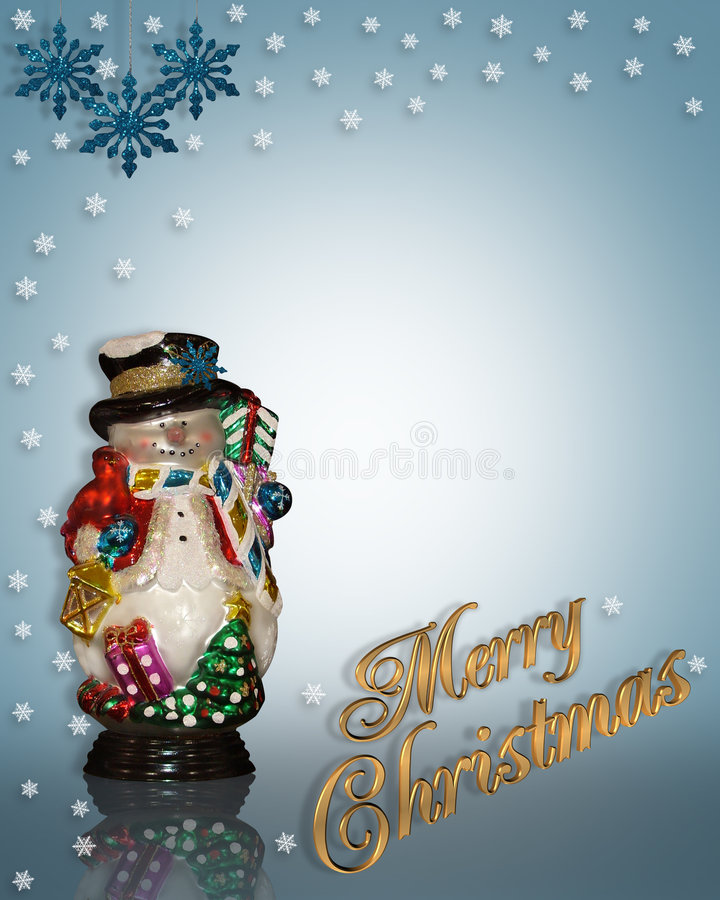 Download Muñeco De Nieve Del Fondo De La Navidad Stock de ilustración - Ilustración de modelo, marco: 7151944