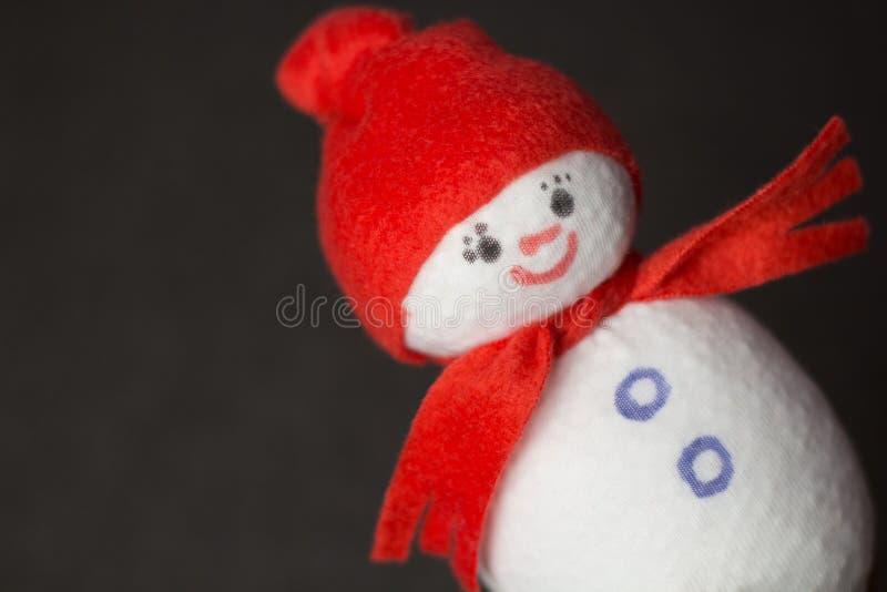 Download Muñeco De Nieve Juguete Suave Foto de archivo - Imagen de rojo, regalo: 64206014