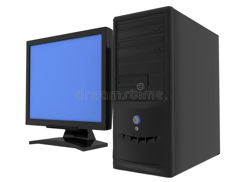 Mu computer vector illustratie
