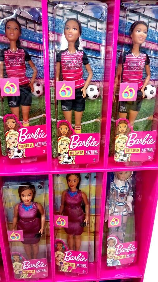 Mu?ecas de Barbie foto de archivo libre de regalías