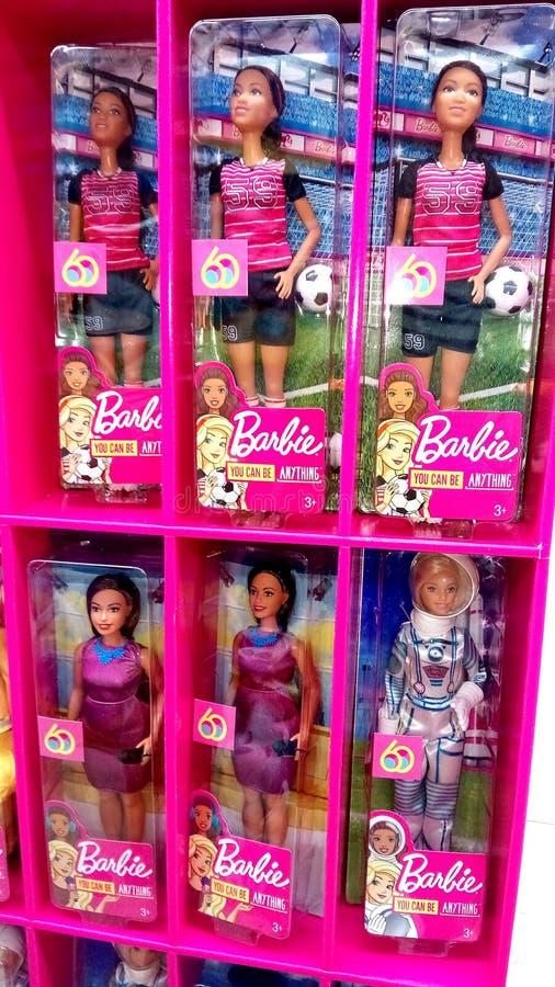 Mu?ecas de Barbie foto de archivo
