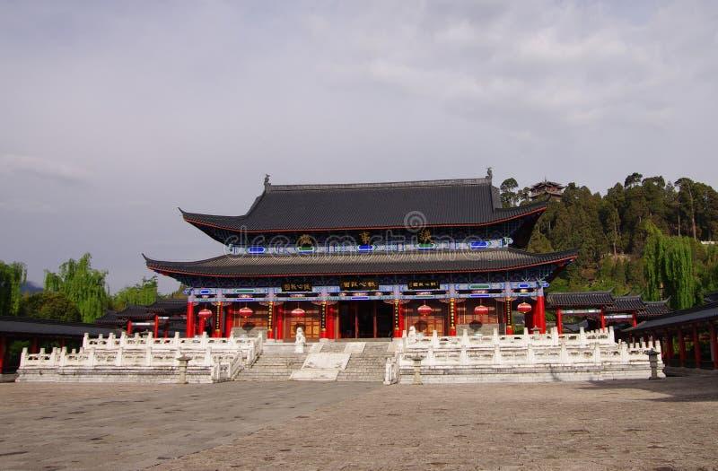 Mu Woonplaats, de stad van China - Lijiang royalty-vrije stock foto