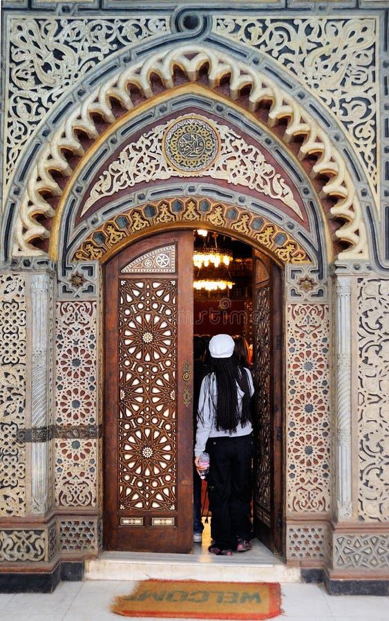 muallaqa copte d'EL de l'Egypte d'église du Caire photo stock